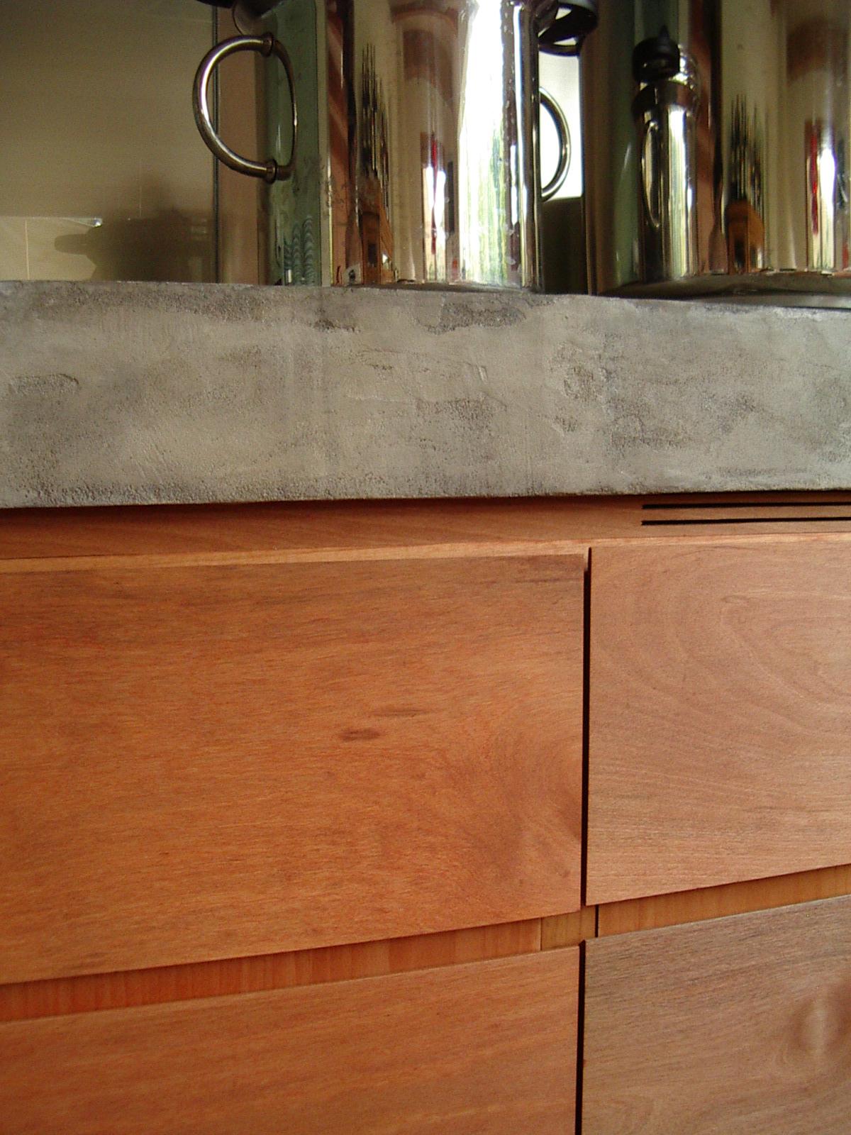 Bancone cucina miko design - Bagno in cemento resinato ...